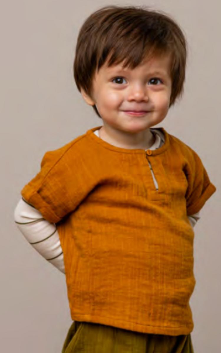 skjorte tomba muslin pumpkin pie