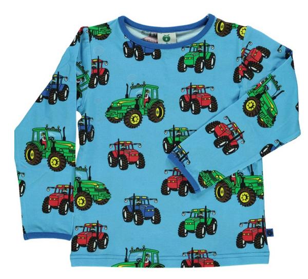 Bilde av Genser med traktor blue