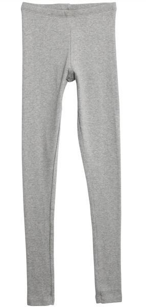Bilde av leggings rib grey melange