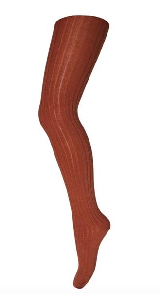 Bilde av Strømpebukse mp ull med ribb