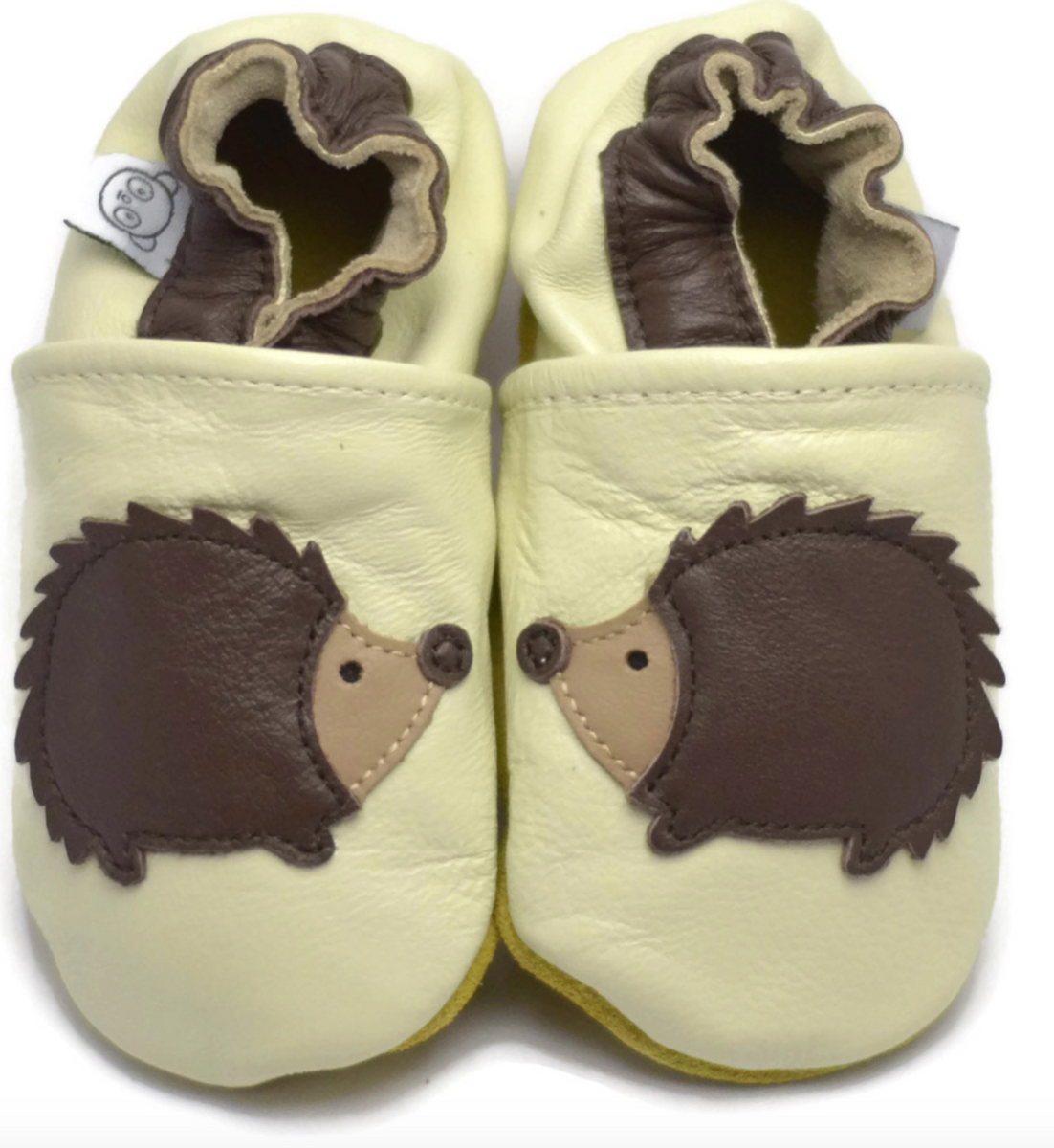 Tøffel pinnsvin creme panda feet