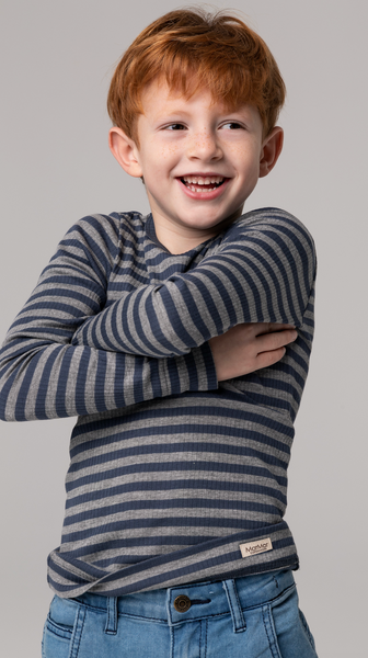 Bilde av genser modal stripes