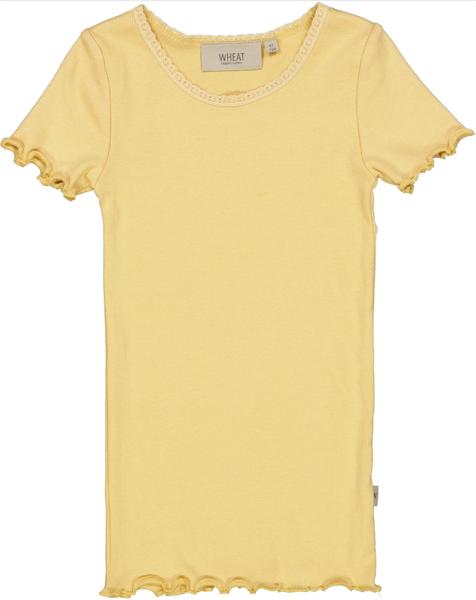 Bilde av T-skjorte rib lace sahara sun