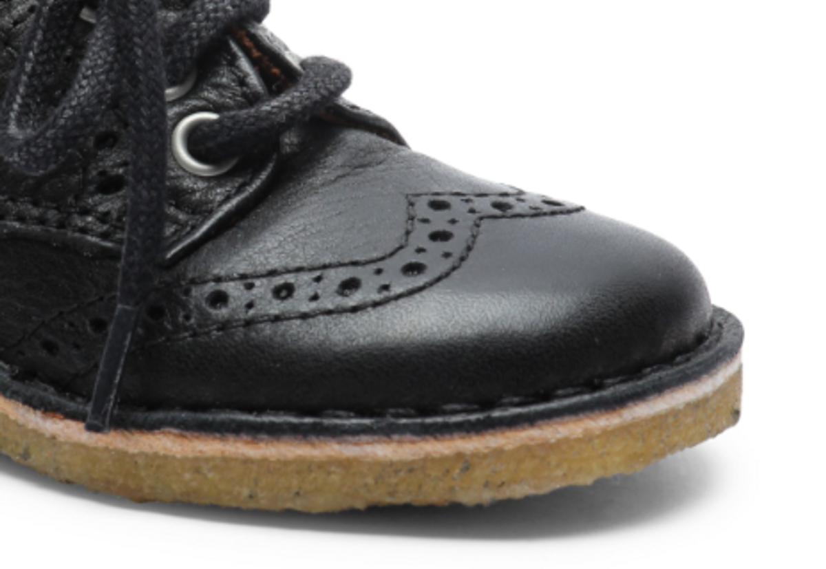 sko bisgaard lace black