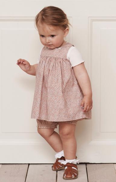 Bilde av kjole Ayla misty rose baby