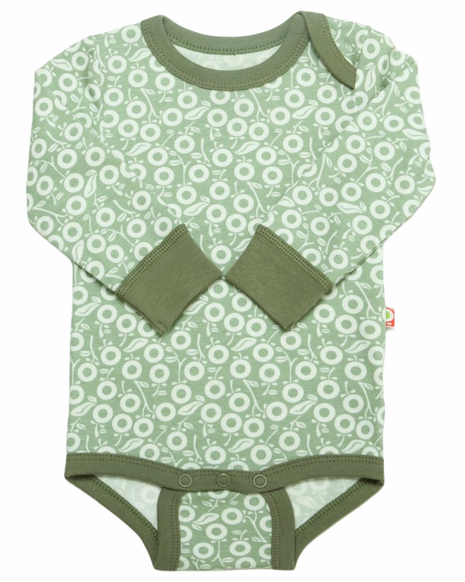 Body miniepler øko grønn