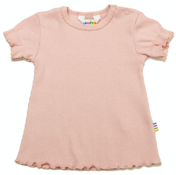Bilde av T-skjorte rib rosa