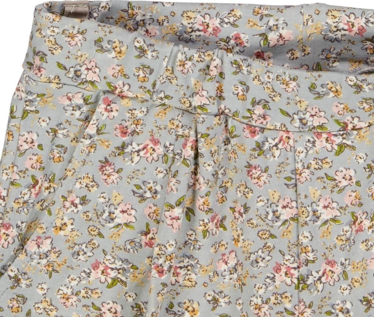 Bukse abbie soft dusty dove flowers