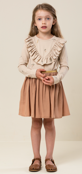 Bilde av Skjørt sus lyocell rose brown