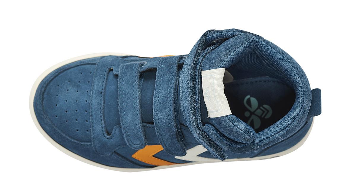 sko hummel stadil blue wing teal