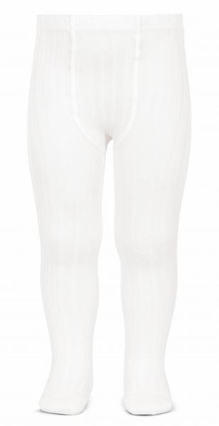 Bilde av Strømpebukse cóndor rib hvit