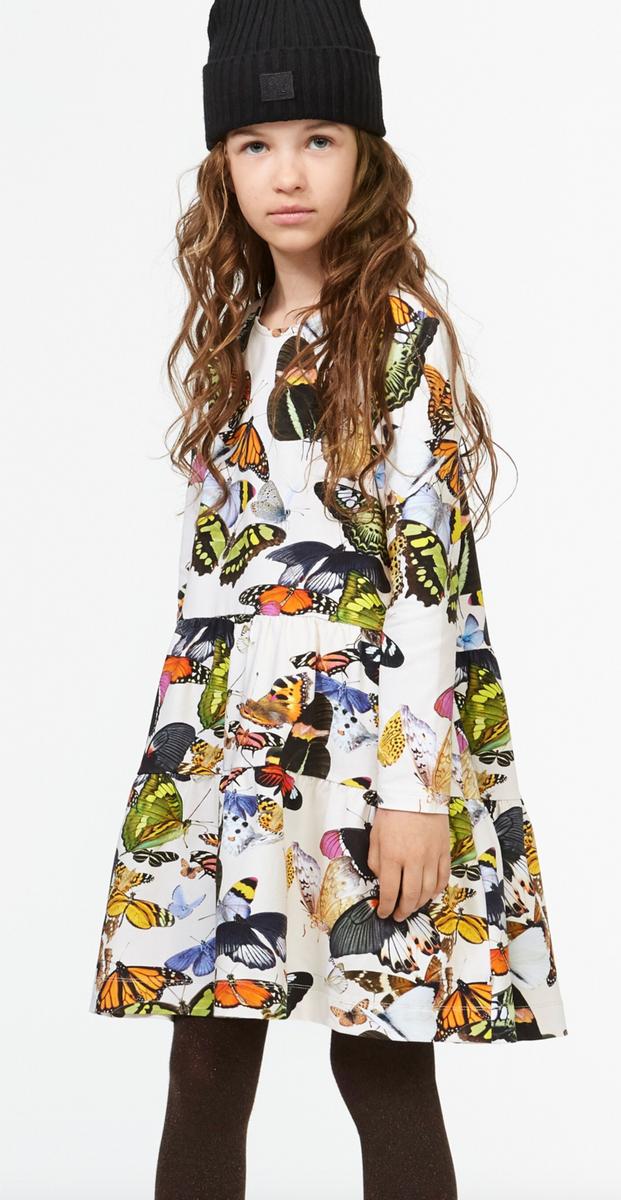 kjole Chia papillon