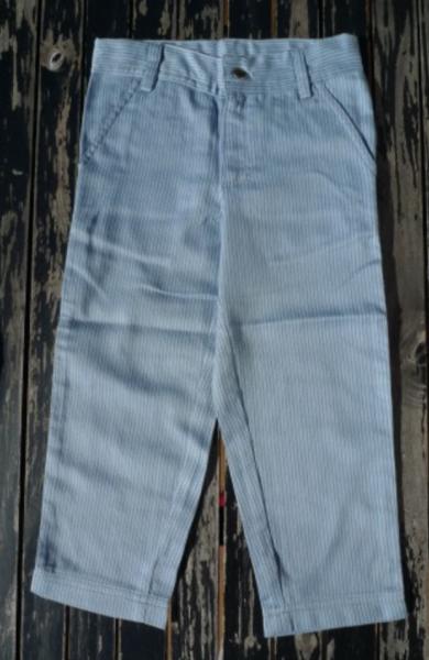 Bilde av bukse økologisk stripe ashley