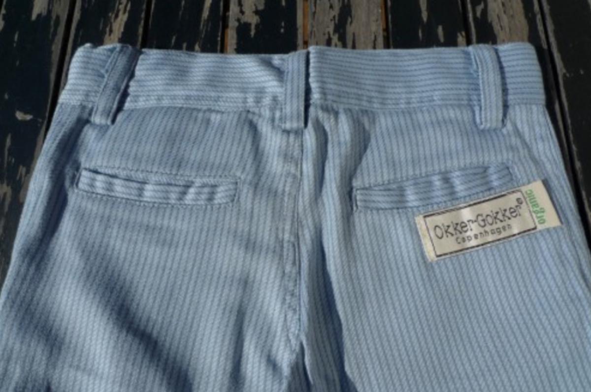 bukse økologisk stripe ashley flint