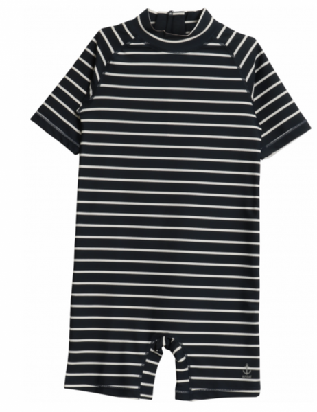 Bilde av badedrakt cas navy striper
