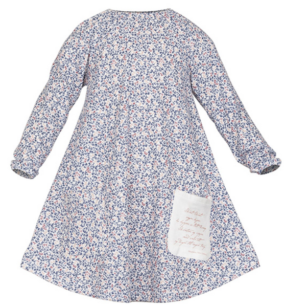 Bilde av sisi kjole mose blå