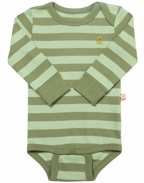 Bilde av Body øko grønn striper