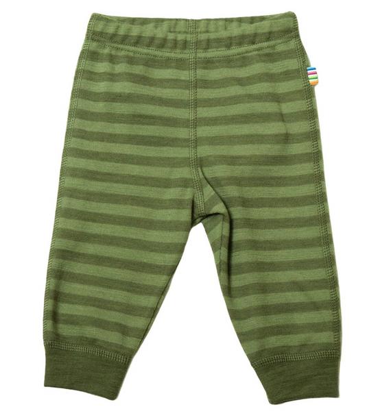 Bilde av Leggings ull striper grønn