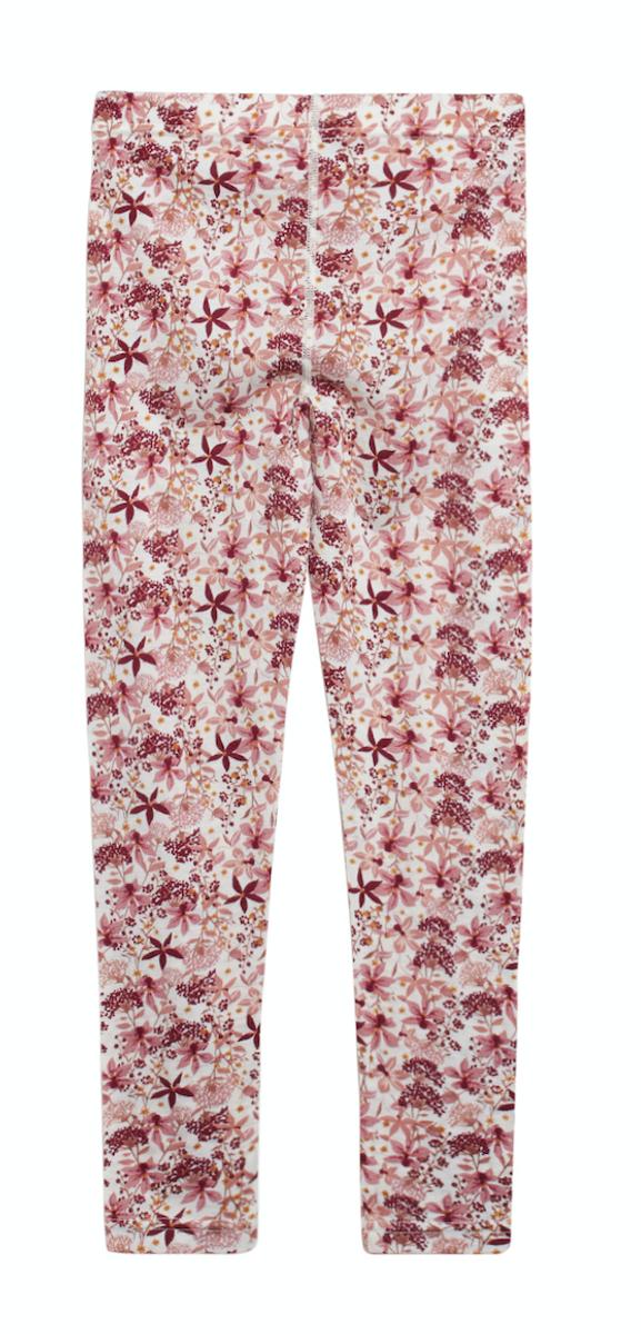 Leggings ull silke lin flowers