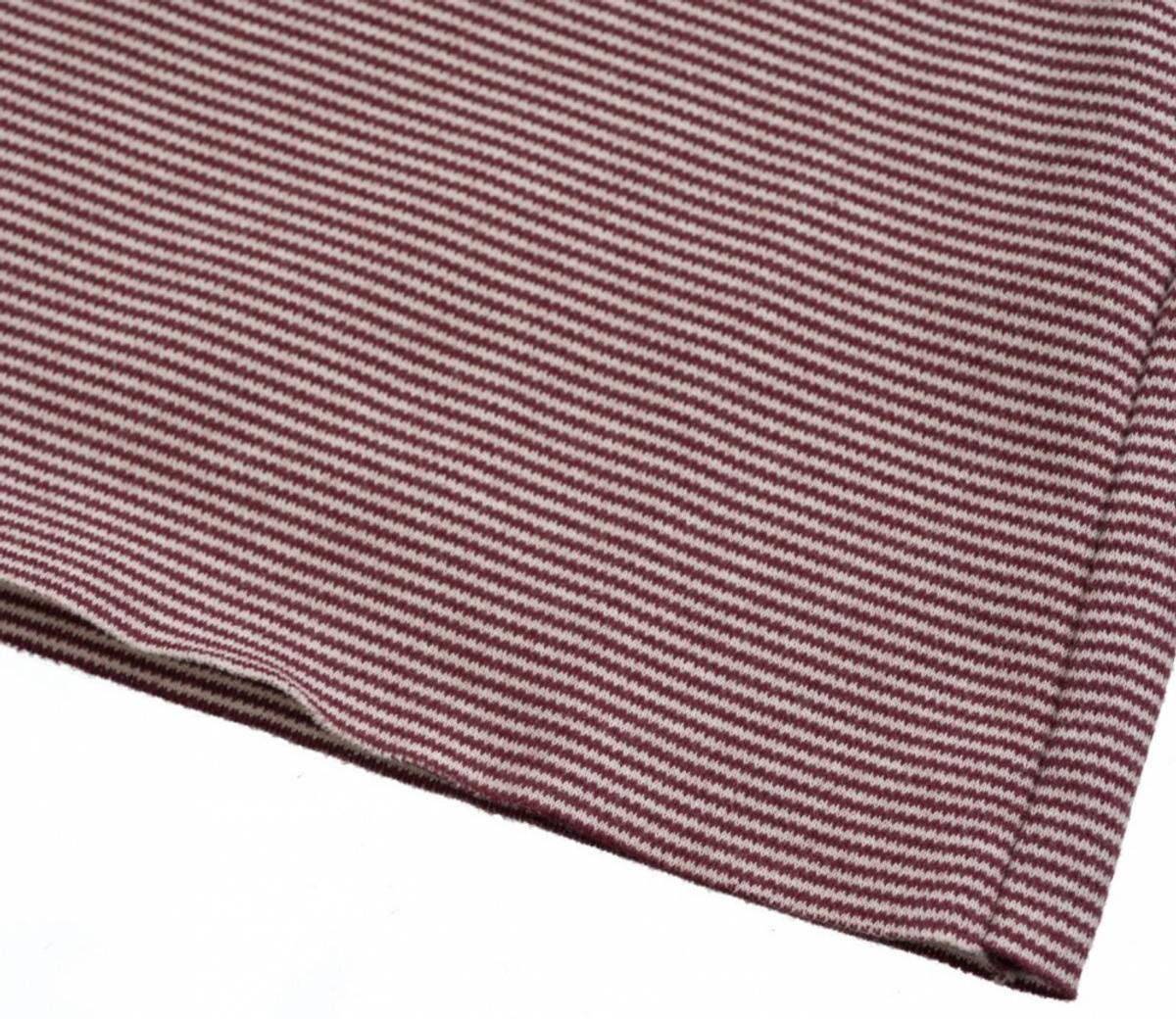 genser elana striped burgundy