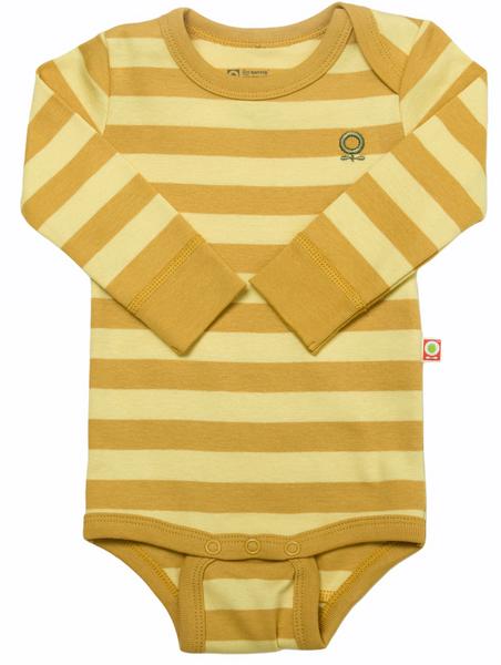 Bilde av Body øko gul striper