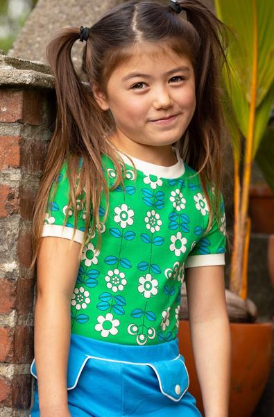 Bilde av T-skjorte bella kelly green