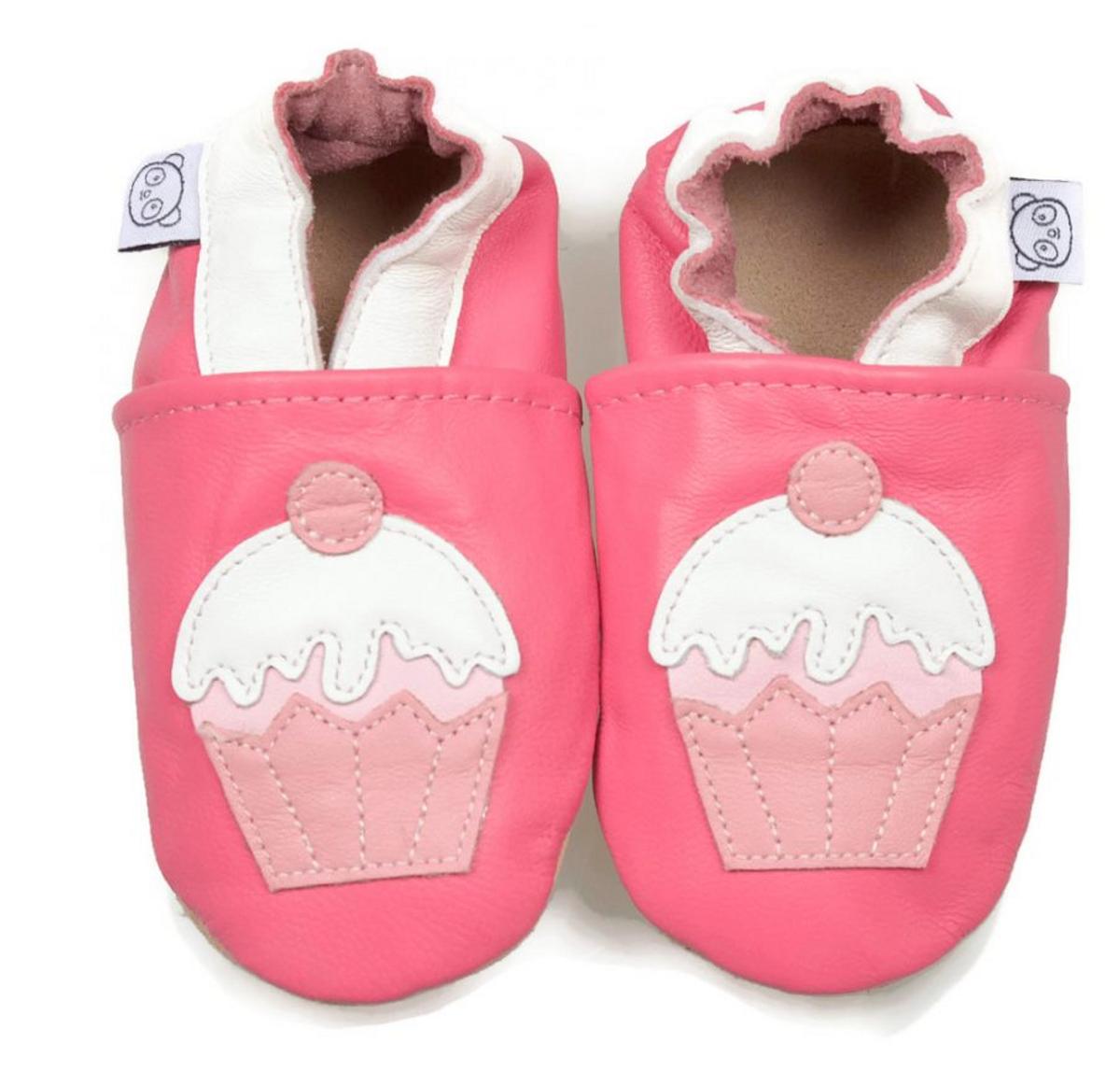 Tøffel cupcake rosa panda feet