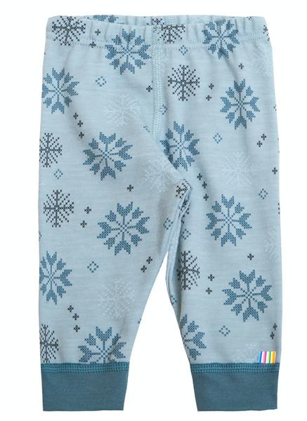 Bilde av leggings ull snøkrystaller