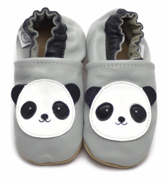 Bilde av Tøffel panda grå panda feet