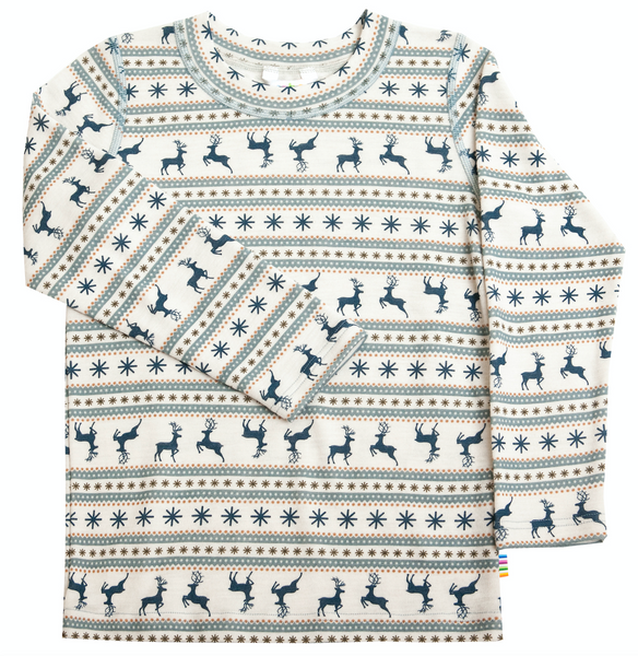 Bilde av genser ull vinter reinsdyr