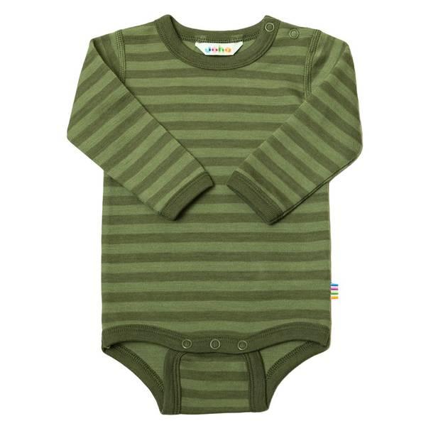 Bilde av Body ull striper grønn