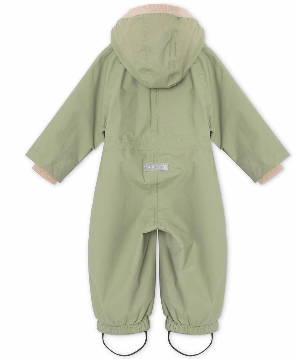Dress Wisto oil green