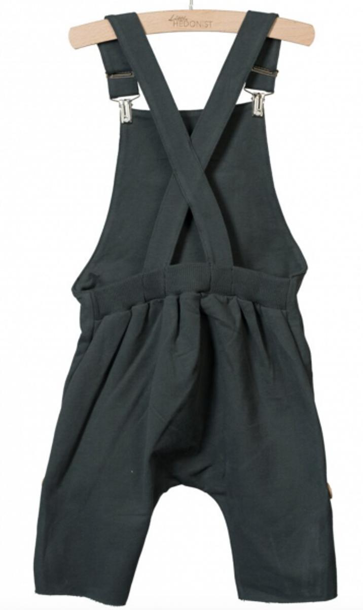 Lolita salopette shorts pirate black