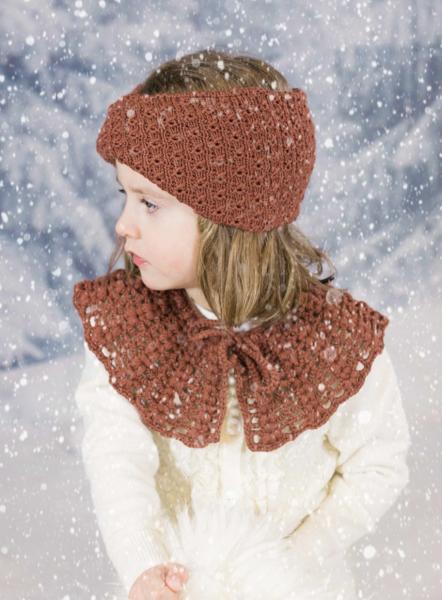 Bilde av collar nanny rust brown