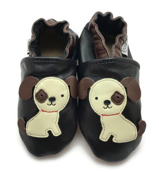 Bilde av Tøffel hund sort panda feet