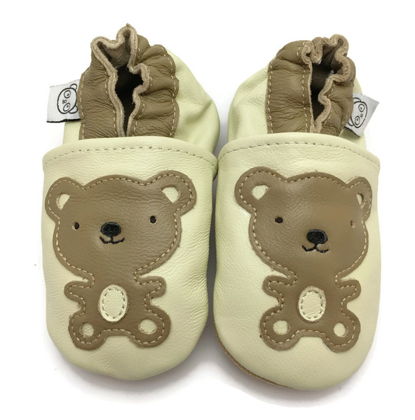 Bilde av Tøffel bamse creme panda feet