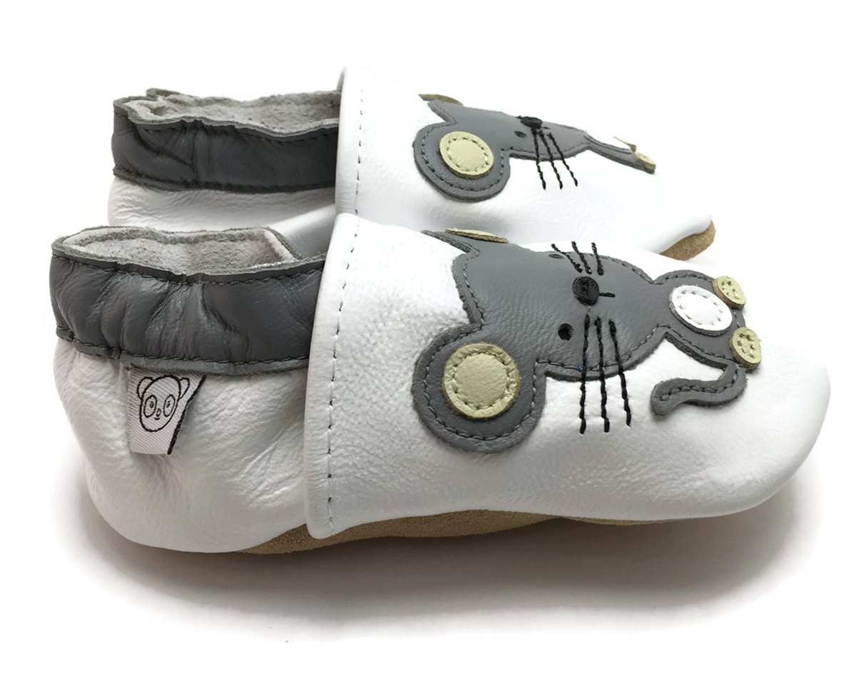Tøffel mus panda feet