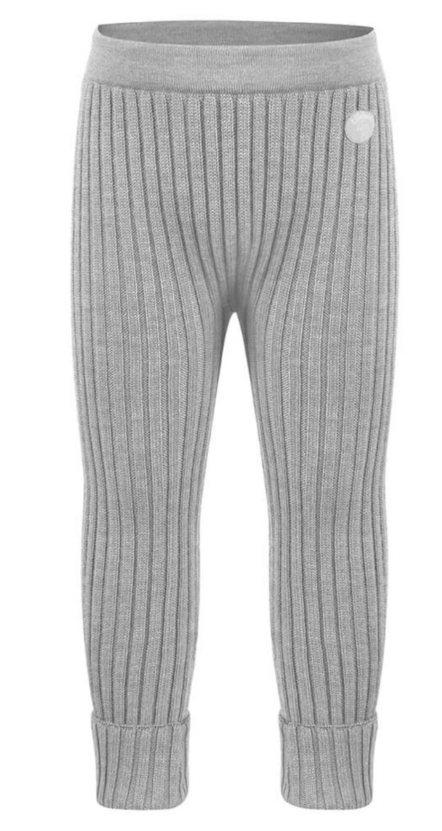Bukse classic ribb mellomgrå ull