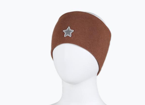 Bilde av Pannebånd brun med stjerne