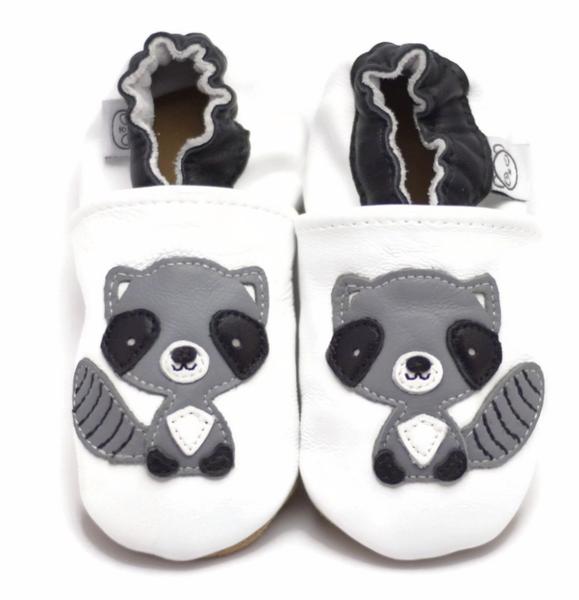 Bilde av Tøffel vaskebjørn hvit panda