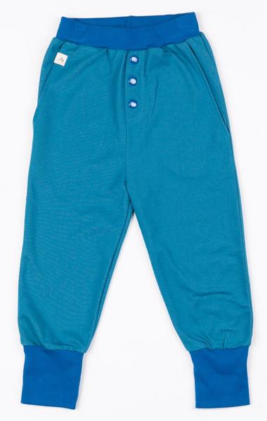 Bilde av bukse button blue sapphire