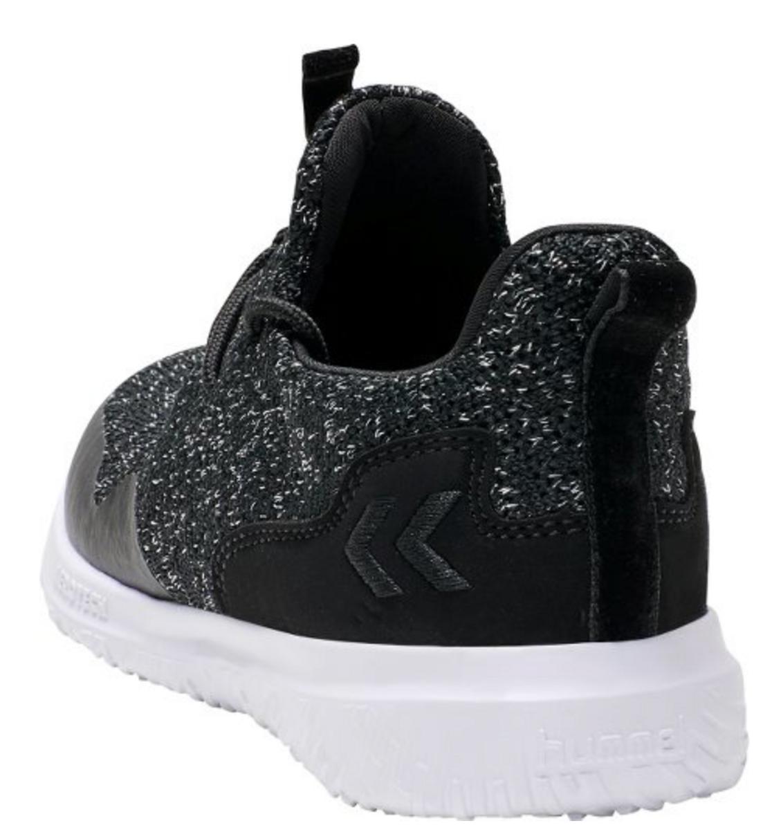 sko hummel actus trainer glitter jr black