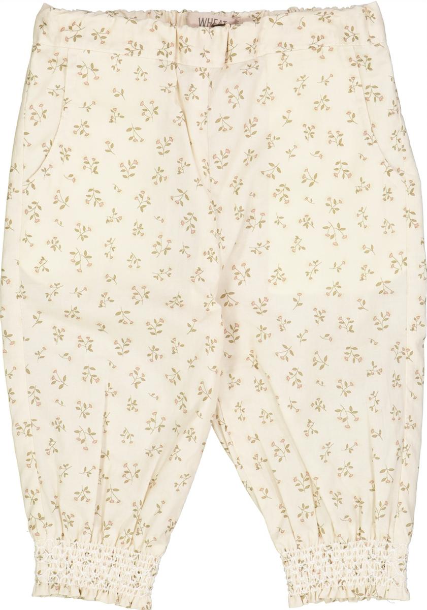 Bukse sara baby eggshell flowers