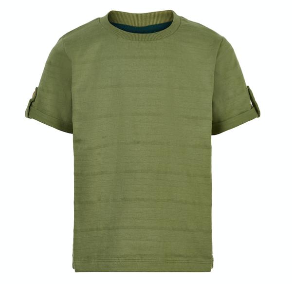 Bilde av T-skjorte enfant striper sage