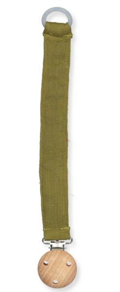 Bilde av smokkesnor muslin dark olive