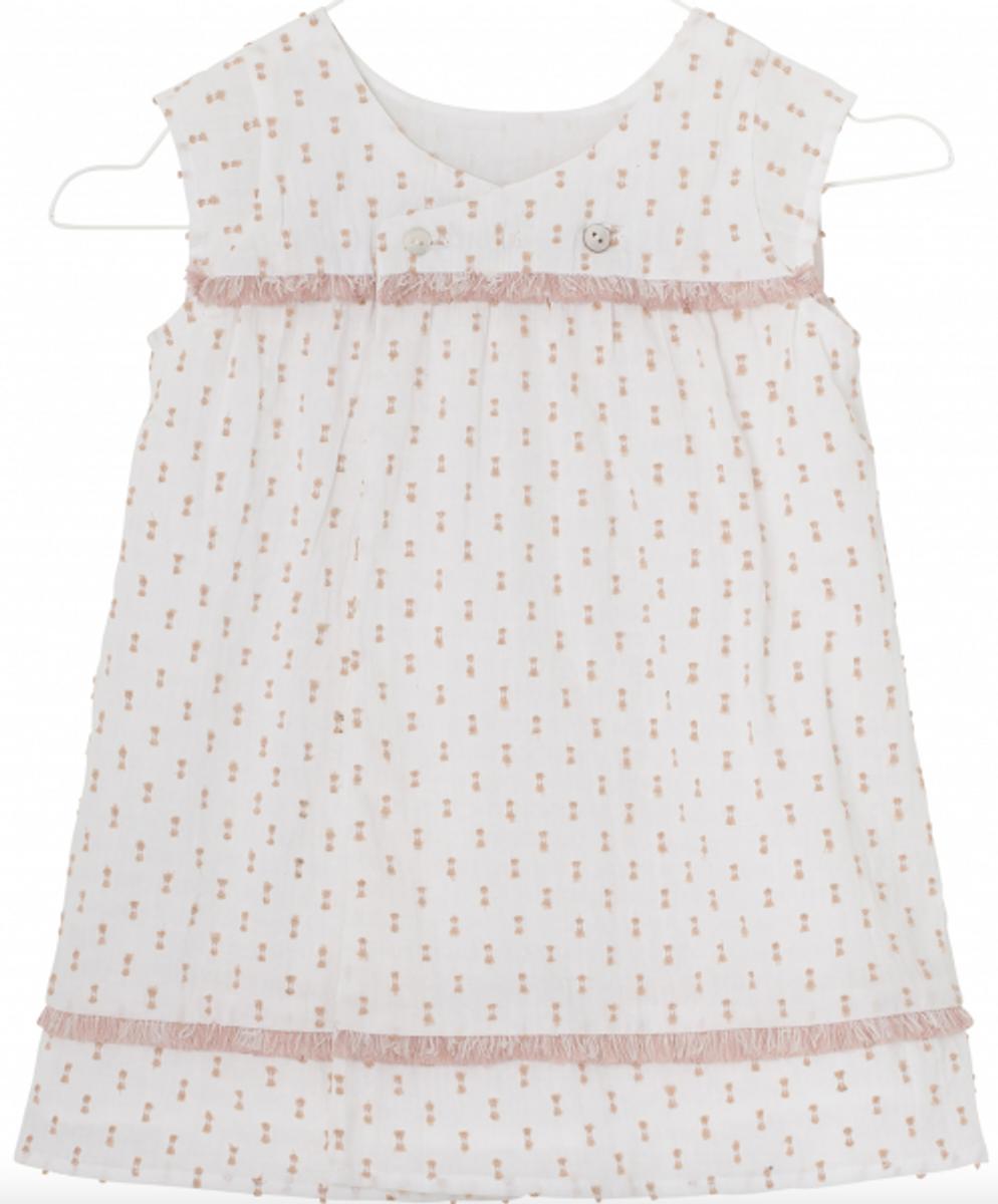 kjole filine white