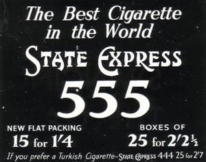 Bilde av 555 State express 0mg