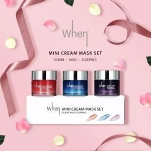 Bilde av Cream Mask Trio Travel Set