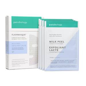 Bilde av FlashMasque 5 Minute Facial Sheets - Milk peel 4 Behandlinger