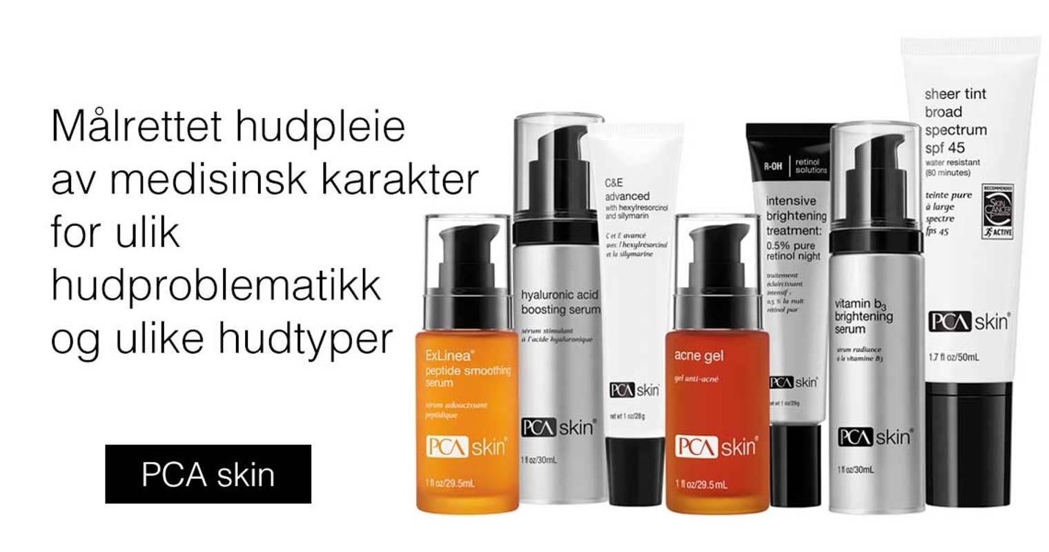 PCA skin hudpleie medisinsk hudpleie